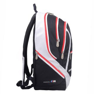 Travelers Choice BMJ 102 BMW Motorsports Team Backpack in Blue White