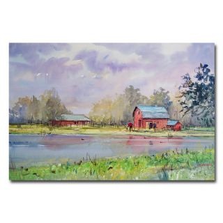 Ryan Radke View from the Millpond Canvas Art   15046090