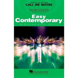 Hal Leonard Call Me Maybe   Easy Pep Band/Marching Band Level 2