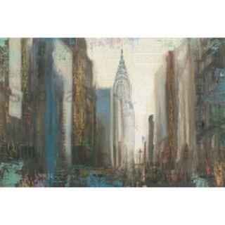 Urban Movement I NY Poster Print by Myles Sullivan (36 x 24)