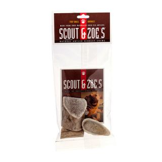 Scout and Zoes 100 percent Elk Antler Niblet Pet Treats for Small