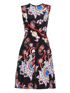 Masson Urdu paisley print silk dress  Mary Katrantzou US