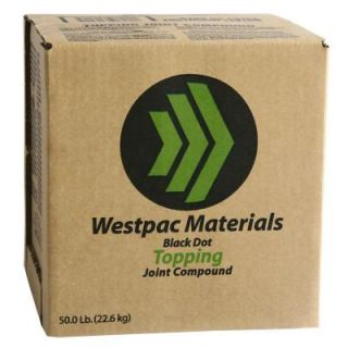 Westpac Materials 3.5 Gal. Black Dot Topping Pre Mixed Joint Compound 18360H