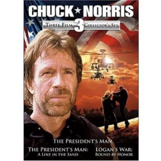 Chuck Norris: Three Film Collector's Set   The President's Man / The President's Man: A Line In The Sand / Logan's War: Bound By Honor