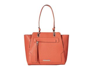 Nine West Seamingly Attached Large Tote Indian Coral