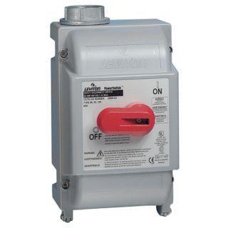 LEVITON Interruptor Manual para Motor, 60 A CA, Operador de palanca   5DLV0|DS60 AX   Grainger