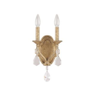 Capital Lighting Blakely Collection 3 light Antique Gold Wall Sconce