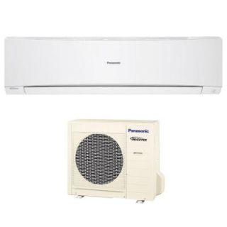Panasonic 24,000 BTU 2 Ton Ductless Mini Split Air Conditioner with Heat Pump   208 or 230V/60Hz E24NKUA