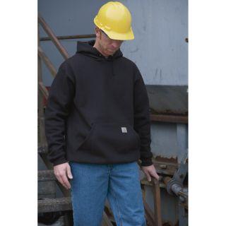 Carhartt Workwear Hooded Pullover Sweatshirt — Big/Tall Style, Model# K121  Sweats   Hoodies