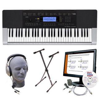 Casio CTK 4400 PPK 61 Key Educational Keyboard Package    Retail Solutions