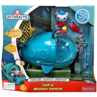 Fisher Price Octonauts GUP A Deluxe Mission Vehicle