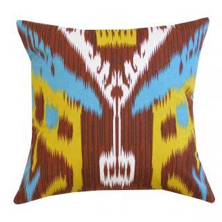 Maya Cotton Throw Pillow by Divine Designs