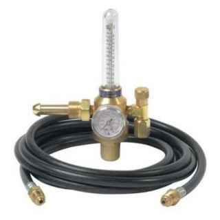 HARRIS 3100211 Flowmeter Reg, Cylinder, Ar, CO2, CGA 580