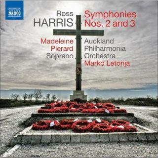 Ross Harris: Symphonies Nos. 2 & 3