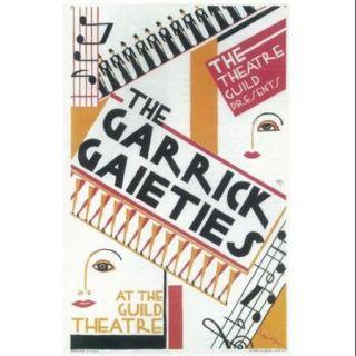 Garrick Gaieties (Broadway) Movie Poster (11 x 17)