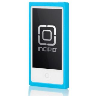 IP 387 Incipio Incipio Hipster Clip Hybrid Case with Clip for iPod Nano 7G, Blue / Gray