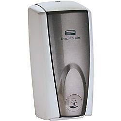 Rubbermaid Auto Foam Soap Dispenser Gray PearlWhite