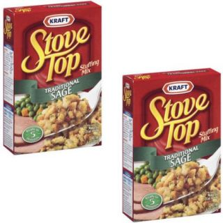 Stove Top Traditional Sage Stuffing Mix, 6 oz (pack of 2)
