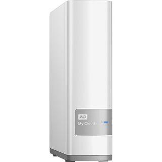 WD My Cloud 3TB External Hard Drive (NAS) White WDBCTL0030HWT NESN