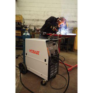 Hobart IronMan 230 Flux-Core/MIG Welder with Included 20-Ft. Spoolgun — 230V, 250 Amp, Model# 500536001  MIG   Flux Core Welders