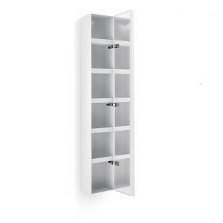 WS Bath Collections Ciacole 8054 Linea Ciacole 62 3 5 x 10 2 5 Cabinet with Mirrored Door