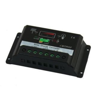 CMTP02 20A Solar System Cell Street Lamp Charge Controller 12V 24V Auto Switch