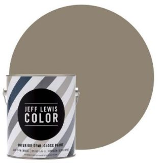 Jeff Lewis Color 1 gal. #JLC110 Clay Semi Gloss Ultra Low VOC Interior Paint 501110