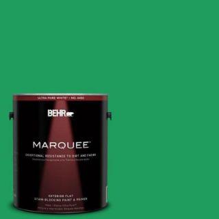 BEHR MARQUEE 1 gal. #S G 450 Herbal Tea Flat Exterior Paint 445301