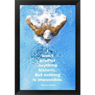 Historic Swimming Quote Framed Art   15764239