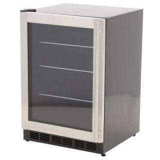 Magic Chef 178 Can (12 oz.) 5.8 cu. ft. Beverage Cooler, Stainless Door MCBC58DST