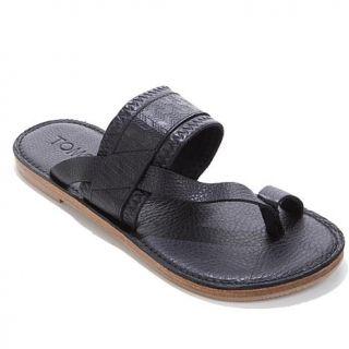 TOMS Isabella Leather Toe Loop Sandal   8047953