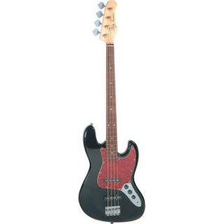 Jay Turser JTB 402 J Style Electric Bass Guitar JTB 402 BK