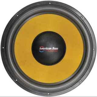 """American Bass VFL18D1 18"""" Competition Woofer 4000w Max"""