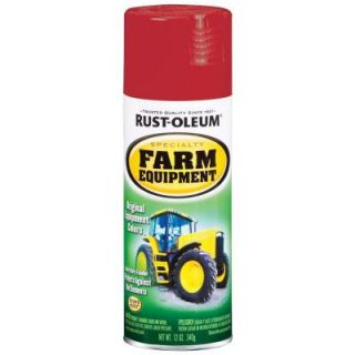 Rust Oleum Specialty 12 oz. International Red Gloss Farm Equipment Spray Paint (Case of 6) 7466830
