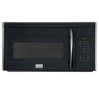 Frigidaire Gallery 1.7 cu ft Over The Range Microwave with Sensor Cooking Controls (Black) (Common: 30 in; Actual: 29.94 in)