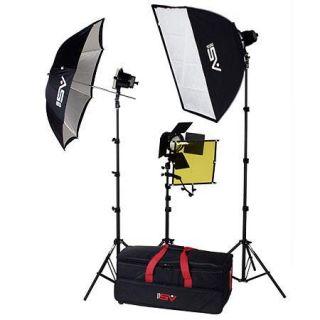 Smith Victor K70, 3 765UM Quartz Light, Carrying Case 401400