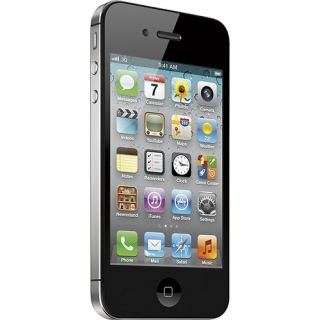 Apple iPhone 4S with 16GB Memory Mobile Phone Black MD377LL/A