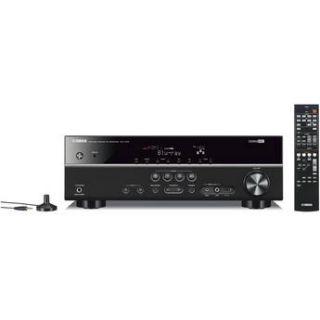 Yamaha RX V375BL 5.1 Channel AV Receiver RX V375BL