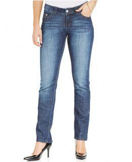 Lee Platinum Josie Secretly Slender Straight Leg Jeans, Eclipse Wash