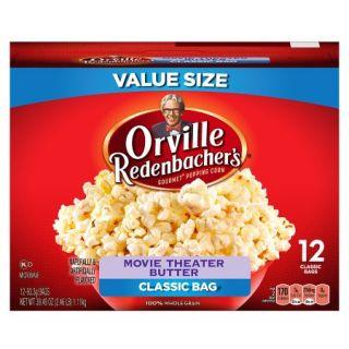 Orville Redenbacher's Movie Theater Butter Popcorn, 12 ct, 39.49 oz