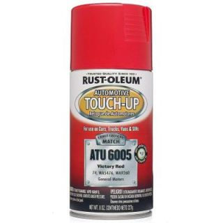 Rust Oleum Automotive 8 oz. Victory Red Auto Touch Up Spray (Case of 6) ATU6005