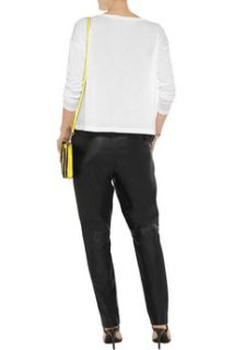 Leather straight leg pants  T by Alexander Wang