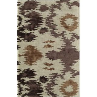 Wildon Home Arbelle Brown/Ivory Area Rug