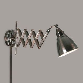 Copper Bronze Ortley Accordion Arm Wall Sconce