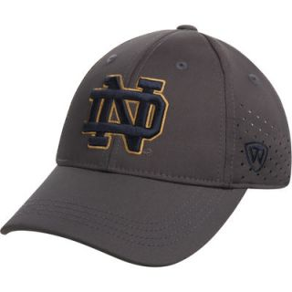 Youth Notre Dame Fighting Irish Top of the World Jock II 1Fit Flex Hat   Charcoal