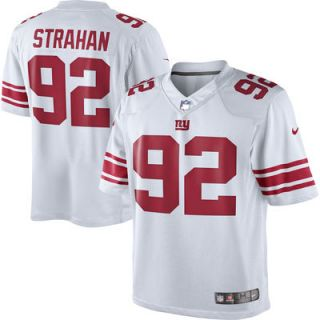 Michael Strahan New York Giants Nike Retired Player Limited Jersey   White