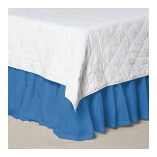 Solid Cotton Bed Skirt by Patch Magic