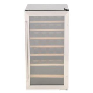 Vissani 17 in. 28 Bottle Wine Cooler in Stainless Steel HVWC28ST