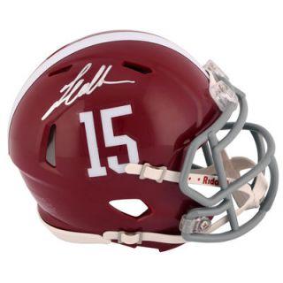 Landon Collins Alabama Crimson Tide  Authentic Autographed Riddell Mini Helmet