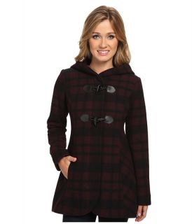 Jessica Simpson Jofmh904 Coat Brick Black, Clothing, Black, Women